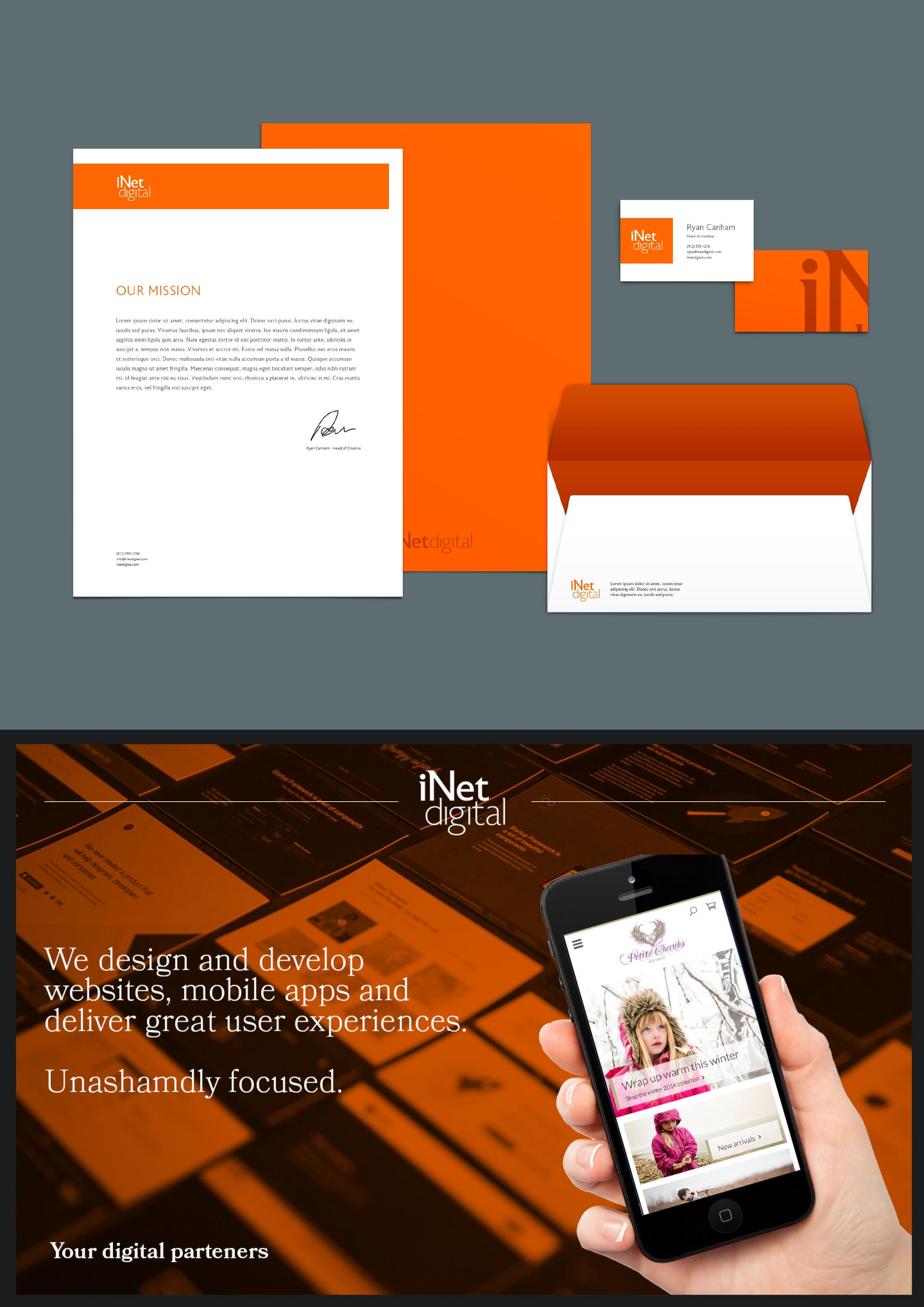 iNet Digital Brand stage
